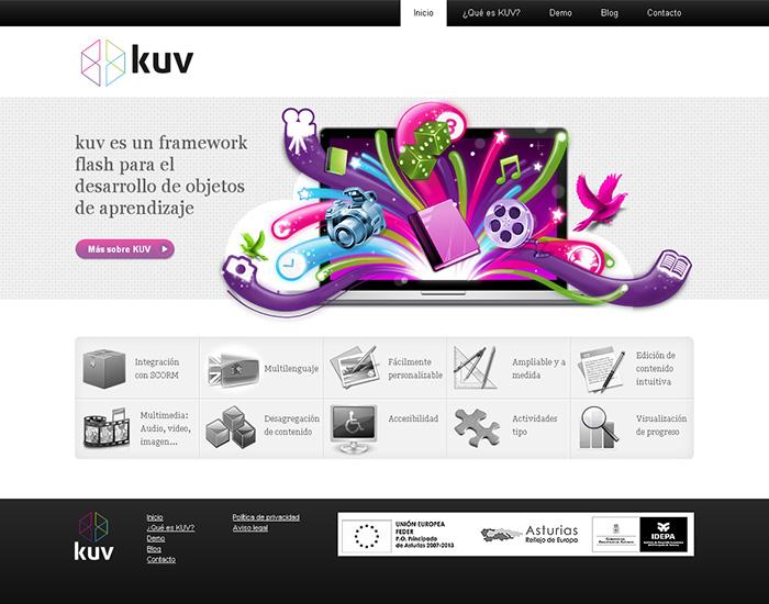 Diseño página web KUV