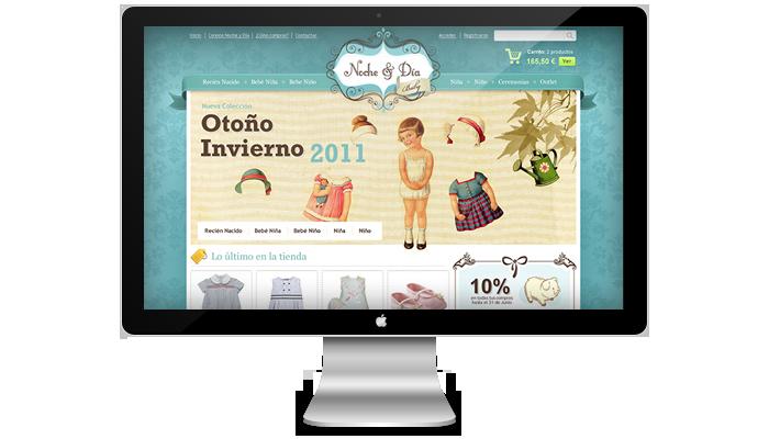 Diseño web Noche y Día Baby