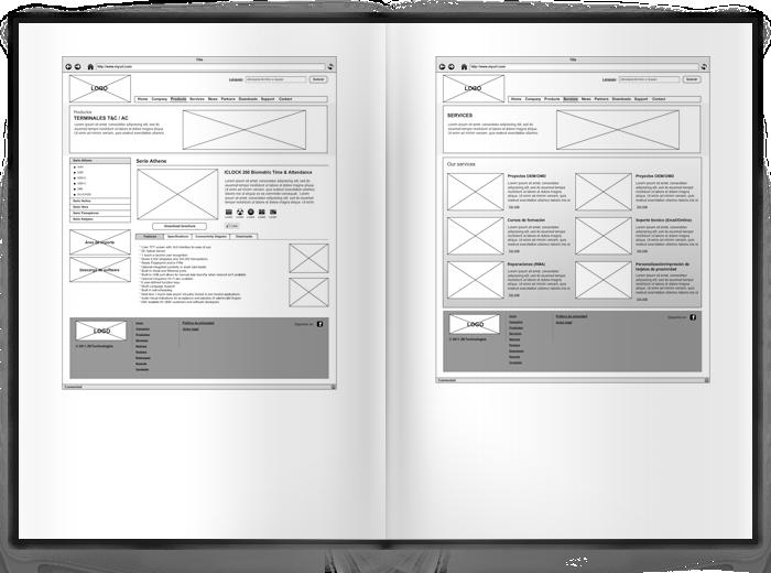 Diseño página web ZK Technologies EU