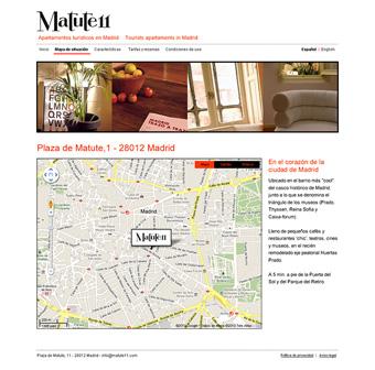 Diseño página web Matute11