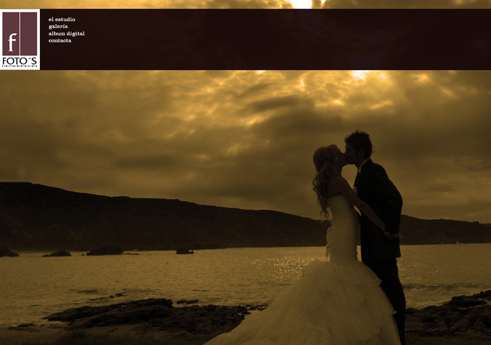 Diseño página web Foto's Fotógrafos
