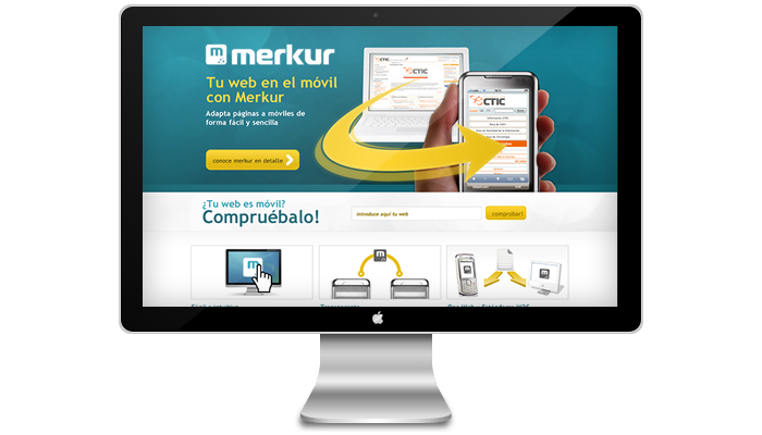 Diseño web Merkur