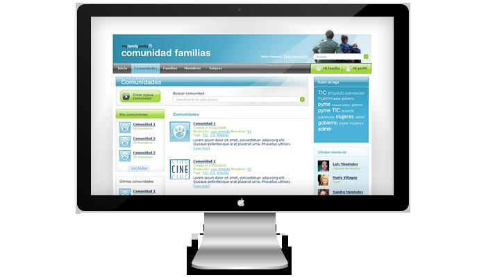Diseño web MyFamilypedia