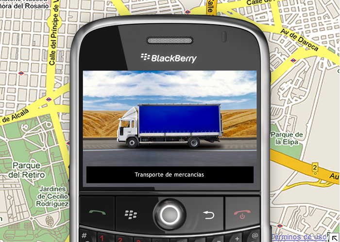 Video BlackBerry Localización