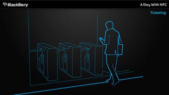 Diseño multimedia BlackBerry NFC