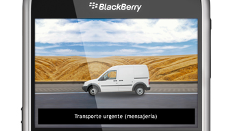 Detalle de video BlackBerry Localización