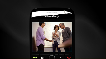 Detalle de video BlackBerry Messenger