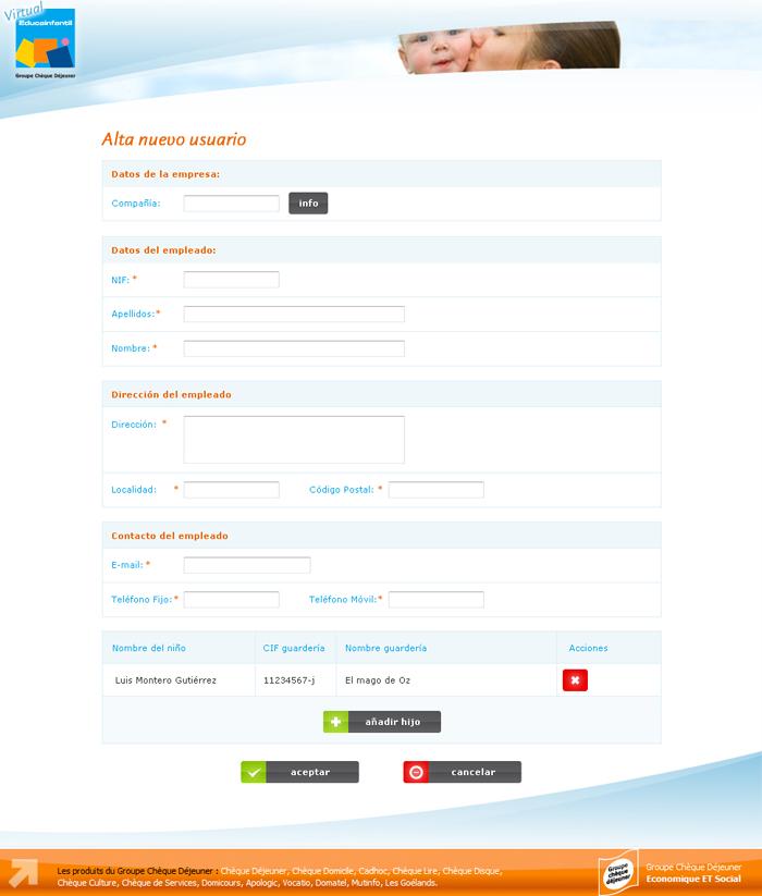 Diseño web Cheque Gourmet