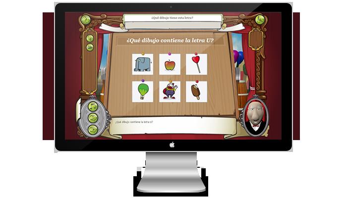 Diseño multimedia Simulador Lengua y Literatura