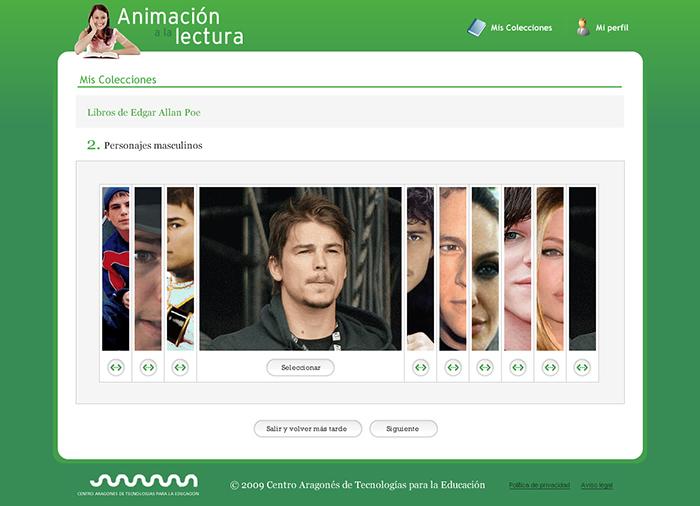 Diseño web Animación a la Lectura