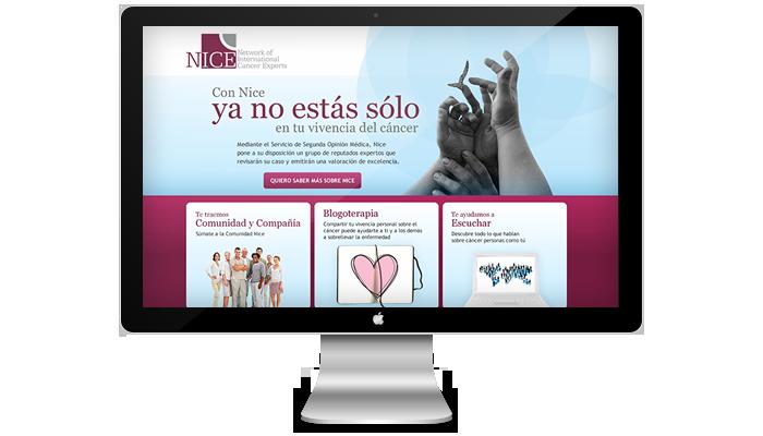 Diseño web Nice