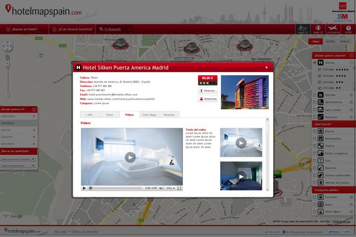 Diseño web HotelmapSpain