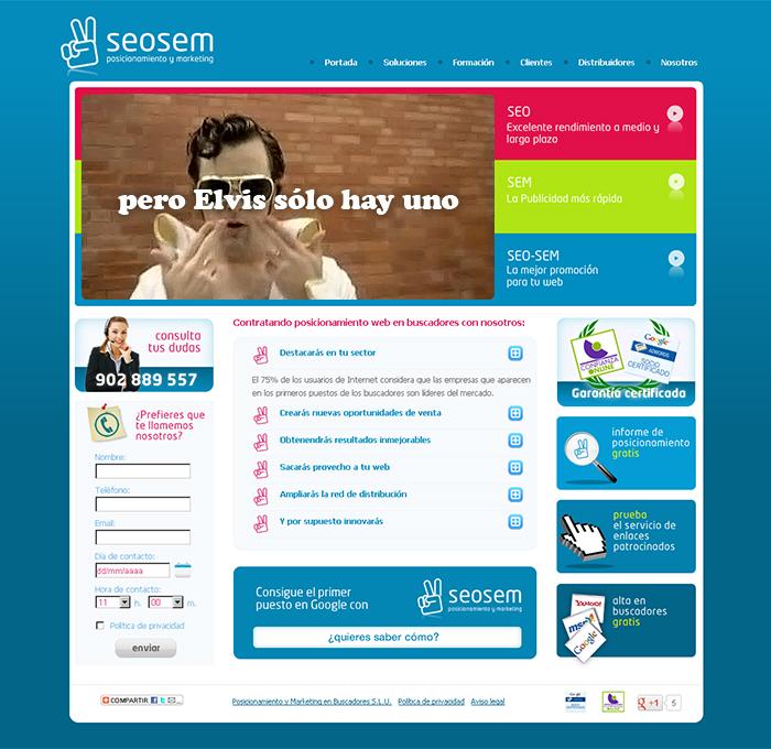 Diseño página web Seosem