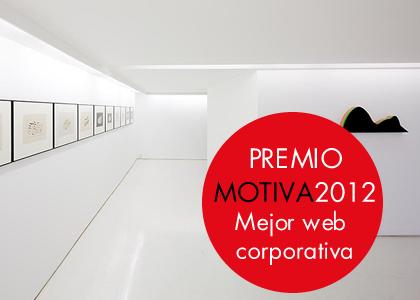 Diseño web corporativo Galería Guillermina Caicoya