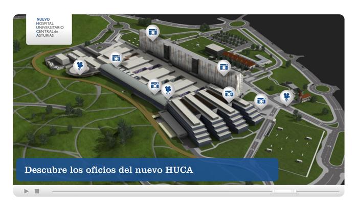 Diseño multimedia Los Oficios del Nuevo Huca