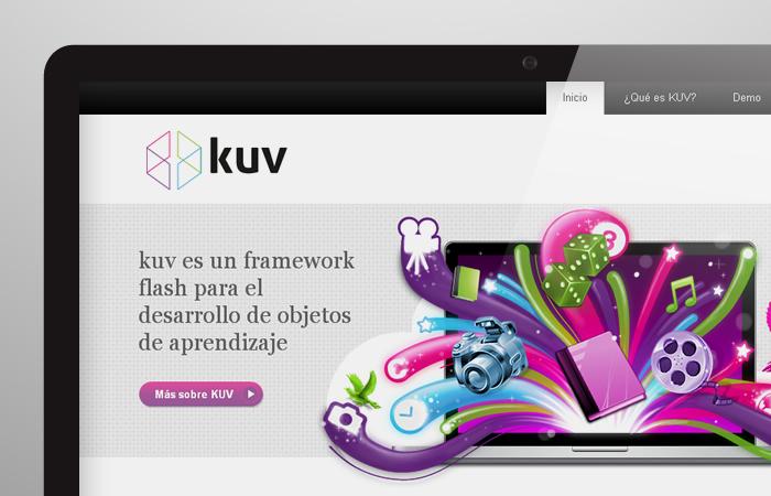 Aplicación de logotipo de KUV