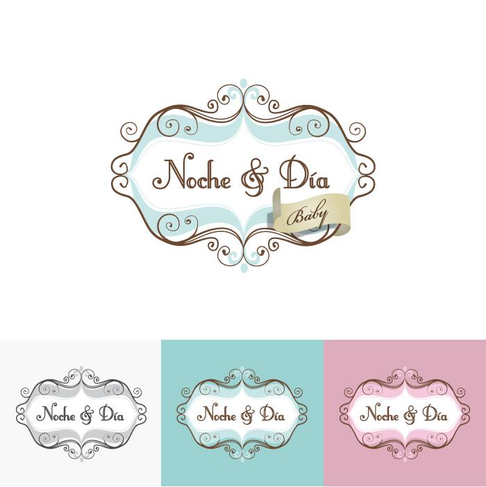 Diseño Logotipo de Noche y Dia Baby