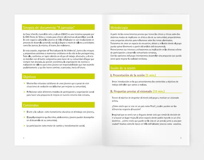 Diseño gráfico A zancadas