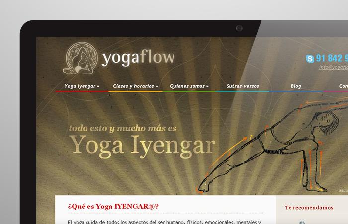 Identidad corporativa Yogaflow
