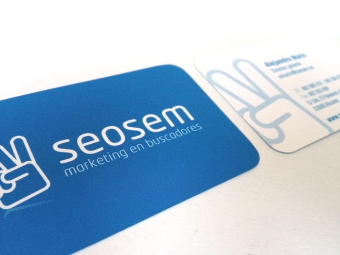 Diseño Tarjeta de visita Seosem