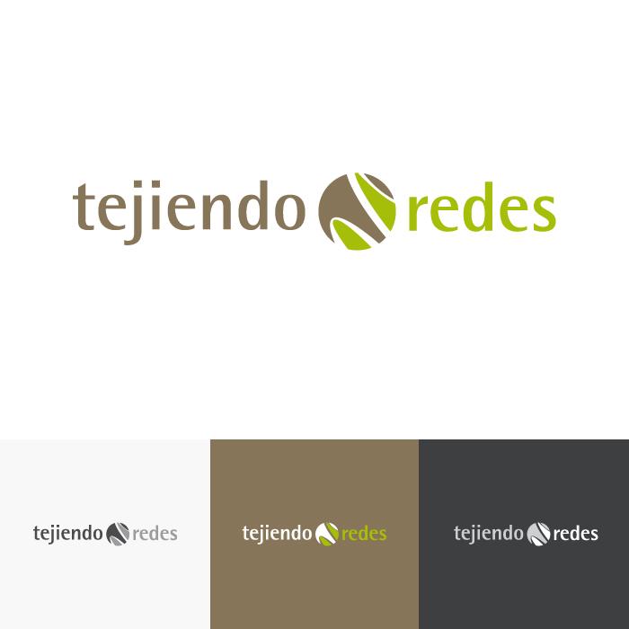 Diseño logotipo Tejiendo Redes