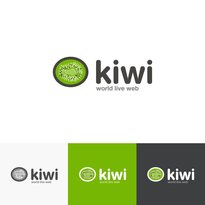 Diseño logotipo Kiwi