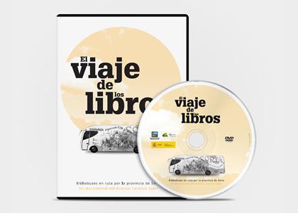 Diseño gráfico de packaging El Viaje de los Libros