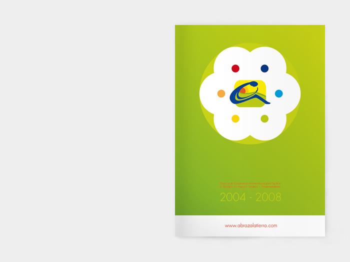 Diseño gráfico Abraza la Tierra