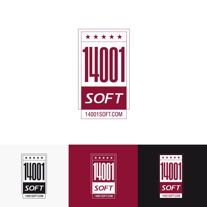 Diseño logotipo ISO 14001 Soft
