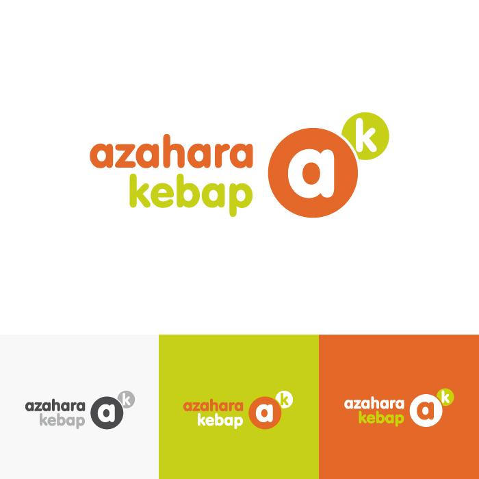 Diseño logotipo Azahara Kebab
