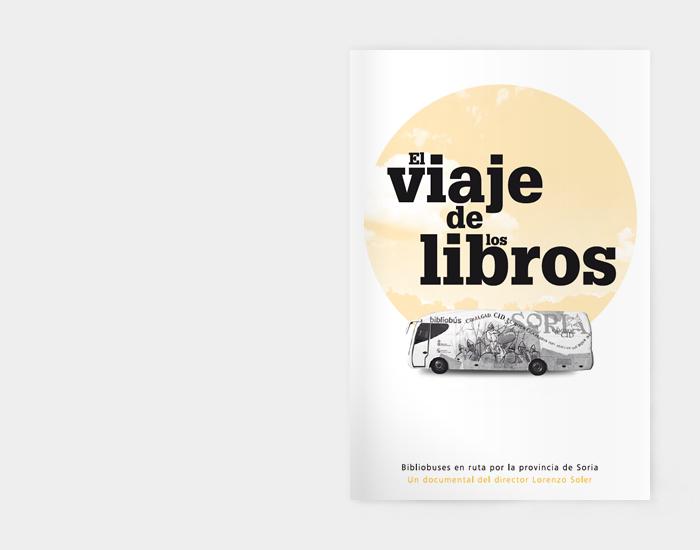 Diseño gráfico El Viaje de los Libros