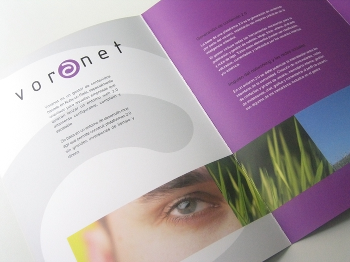 Diseño gráfico Voranet