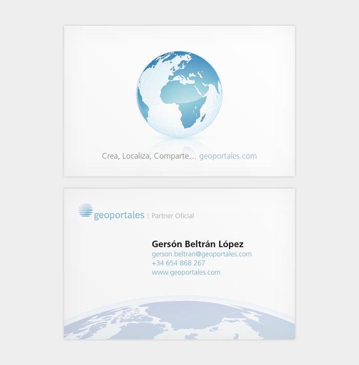 Indentidad corporativa de Geoportales