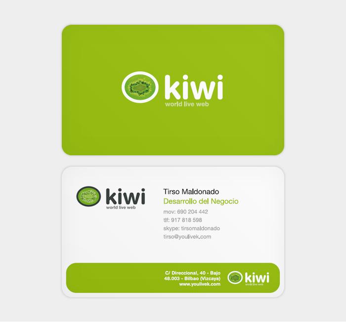 Identidad corporativa de Kiwi