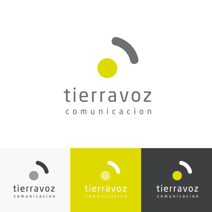 Diseño Logotipo Tierravoz Comunicación