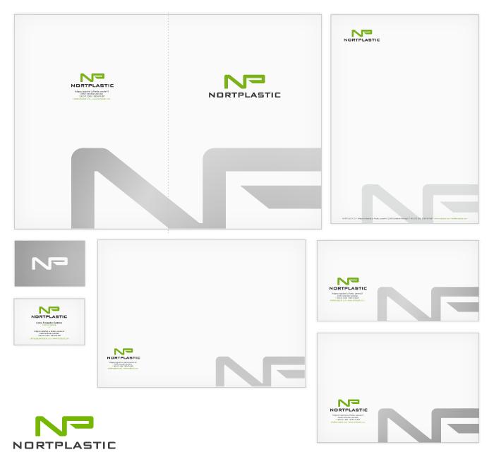 Identidad corporativa de Nortplastic