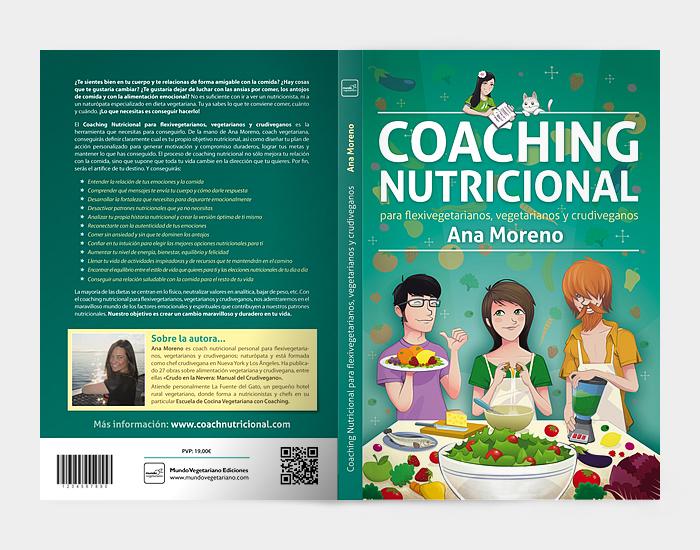 Diseño gráfico Libro Coaching Nutricional por Ana moreno