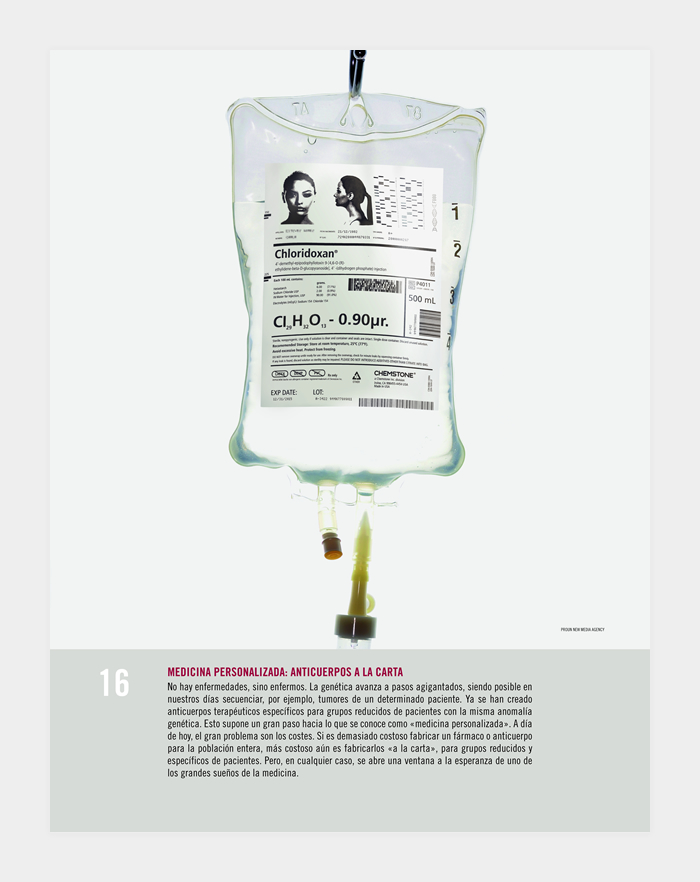 Diseño gráfico exposición gráfica Premio Príncipe de Investigación 2012