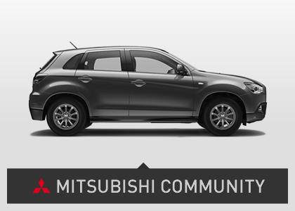 Diseño web corporativo Mitsubishi Community