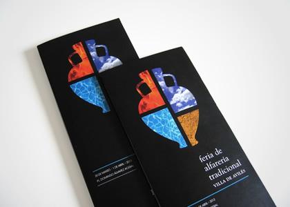 Diseño gráfico de Feria de Artesanía de Avilés 2013