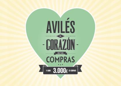 Diseño gráfico de campaña COMERCIO 2013 AYUNTAMIENTO DE AVILÉS