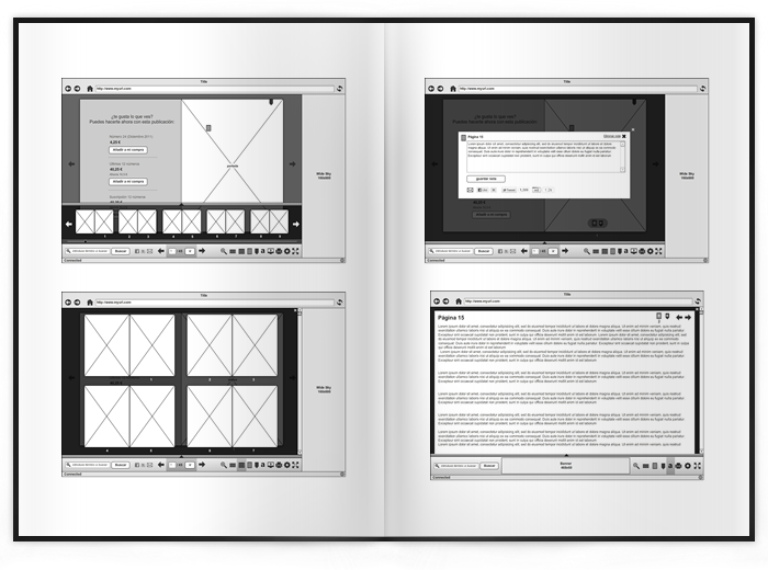 Aplicación web Visual Maniac