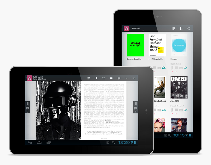 Desarrollo app móvil VISUALMANIAC