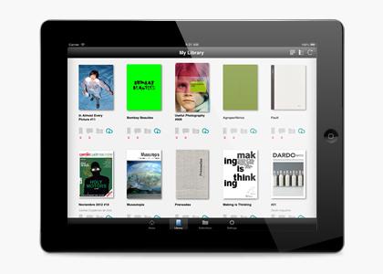 Desarrollo app móvil iPad VISUALMANIAC