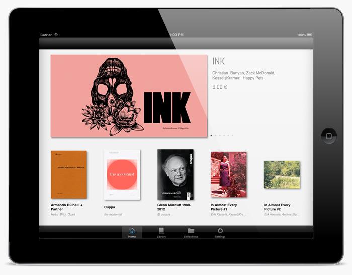 Desarrollo app iPad VISUALMANIAC