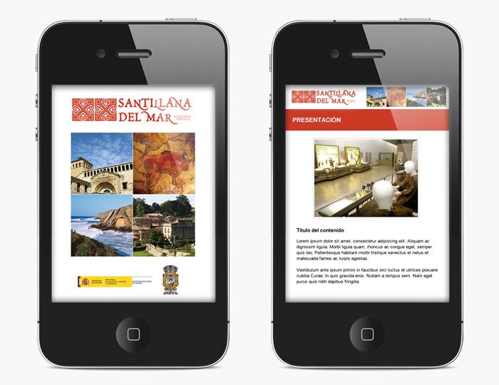 Desarrollo app móvil GUIABLUE SANTILLANA DEL MAR