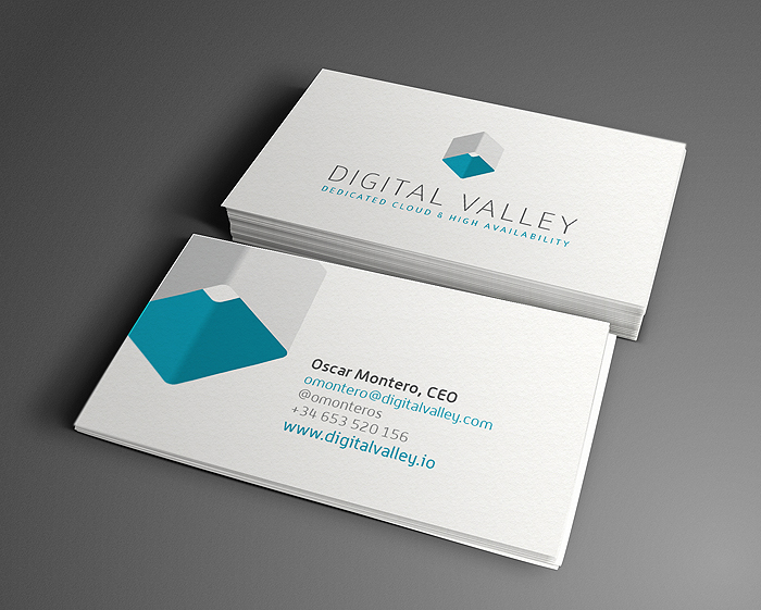 Diseño logo DIGITAL VALLEY
