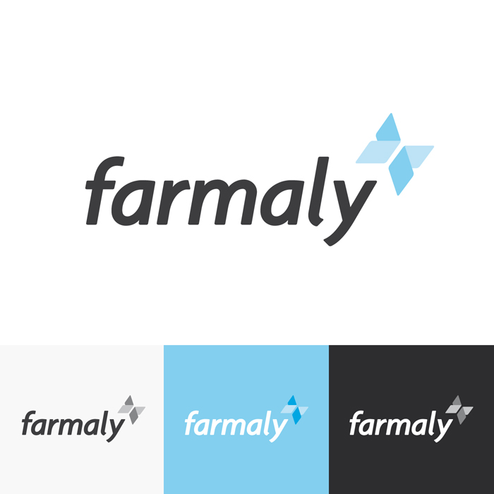Diseño logo FARMALY