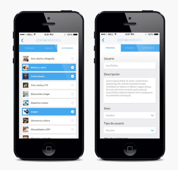 Aplicación móvil beqbe