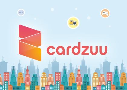 Diseño web corporativo Cardzuu